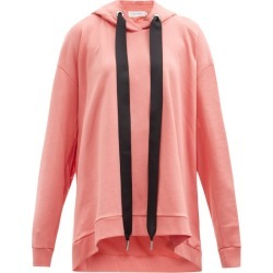 Marques'almeida - Open-back Oversized Cotton Hooded Sweatshirt - Womens - Pink found on MODAPINS from MATCHESFASHION.COM - AU for USD $289.40