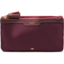 Anya Hindmarch - Filing Cabinet Tasselled Makeup Bag - Womens - Pink Multi found on MODAPINS from Matches UK for USD $293.52