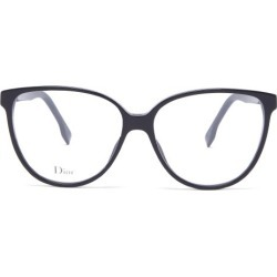 Dior - Dioretoile3 Cat-eye Acetate Glasses - Womens - Black found on Bargain Bro UK from Matches UK