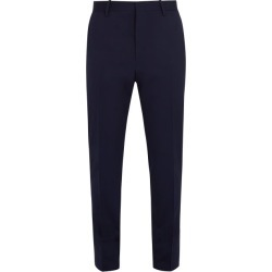 Berluti - Straight Leg Cotton Trousers - Mens - Blue found on MODAPINS from MATCHESFASHION.COM - AU for USD $760.97