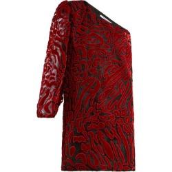 Givenchy - Asymmetric Velvet Devoré Mini Dress - Womens - Red found on Bargain Bro Philippines from MATCHESFASHION.COM - AU for $1257.87