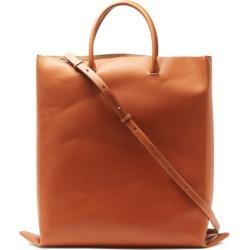 Jil Sander - Foldable Leather Tote Bag - Mens - Brown found on Bargain Bro UK from Matches UK