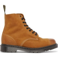 Dr. Martens - 1460 Pascal Leather Ankle Boots - Mens - Tan found on MODAPINS from Matches UK for USD $276.64