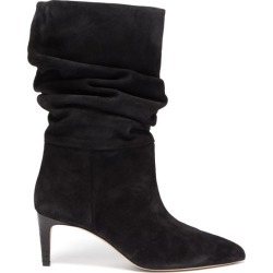 Paris Texas - Slouchy Suede Boots - Womens - Black found on Bargain Bro UK from Matches UK
