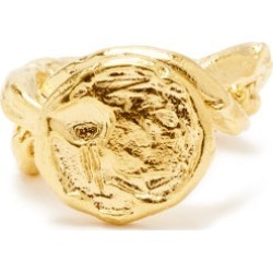 Alighieri - Bague en vermeil 24 carats The Wasteland found on MODAPINS from matchesfashion.com fr for USD $435.50