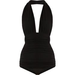 Norma Kamali - Bill Halterneck Swimsuit - Womens - Black found on Bargain Bro UK from Matches UK