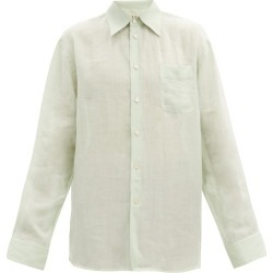 Marni - Oversized Ramie-voile Shirt - Mens - Light Green found on Bargain Bro from Matches UK for £493