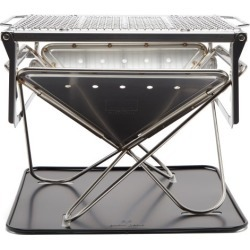 Snow Peak - Portable Stainless-steel Fireplace And Grill - Mens - Grey found on Bargain Bro Philippines from MATCHESFASHION.COM - AU for $404.70