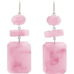 Isabel Marant - Marbled Drop Earrings - Womens - Pink found on Bargain Bro UK from Matches UK