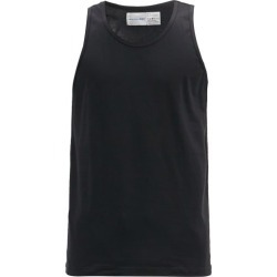 Comme Des Garçons Shirt - Crew-neck Cotton-jersey Vest - Mens - Black found on MODAPINS from Matches UK for USD $42.41
