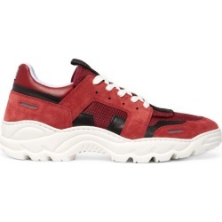 AMI - Baskets en daim et résille Running Lucky 9 found on Bargain Bro Philippines from matchesfashion.com fr for $214.50