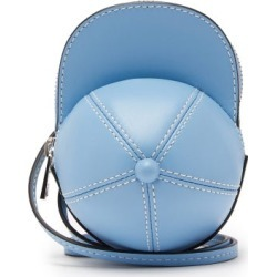 JW Anderson - Nano Cap Leather Bag - Womens - Light Blue found on MODAPINS from MATCHESFASHION.COM - AU for USD $350.13