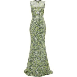 Halpern - Sequinned Wave-print Dress - Womens - Green found on MODAPINS from Matches UK for USD $1293.12