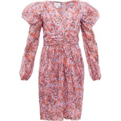 Giambattista Valli - Floral-print Silk-georgette Dress - Womens - Pink Multi found on MODAPINS from Matches Global for USD $1305.00