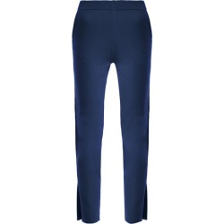 Allude - Slit Cuff Cashmere Trousers - Womens - Blue found on MODAPINS from Matches Global for USD $222.00
