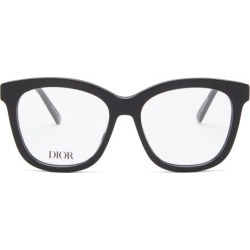 Dior - 30montaignemini Square Acetate Glasses - Womens - Black found on Bargain Bro UK from Matches UK