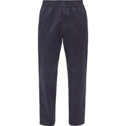Barena Venezia - Bragola Elasticated-waist Cotton-blend Trousers - Mens - Navy found on MODAPINS from Matches Global for USD $250.00