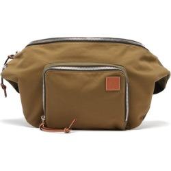 Loewe Paula's Ibiza - Large Logo-patch Canvas Belt Bag - Mens - Khaki found on Bargain Bro UK from Matches UK