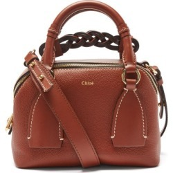 Chloé - Daria Small Grained-leather Cross-body Bag - Womens - Brown found on Bargain Bro UK from Matches UK