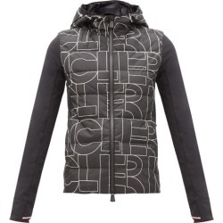 Moncler Grenoble - Logo-print Jersey-sleeve Mid-layer Down Jacket - Womens - Black found on Bargain Bro Philippines from MATCHESFASHION.COM - AU for $1111.54