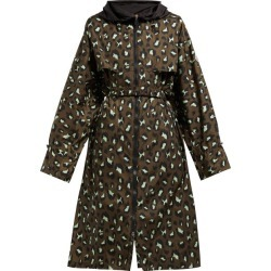 Moncler - Washington Animal-print Technical Parka - Womens - Green Print found on Bargain Bro India from Matches Global for $1435.00