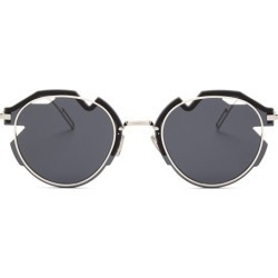 Dior Eyewear - Diorbreaker Fragmented-lens Metal Sunglasses - Mens - Silver found on Bargain Bro UK from Matches UK