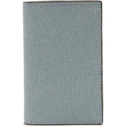Valextra - Grained-leather Wallet - Mens - Light Blue found on Bargain Bro UK from Matches UK