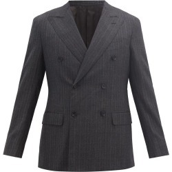 Caruso - Veste en laine à fines rayures found on MODAPINS from matchesfashion.com fr for USD $747.50