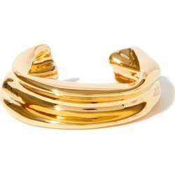 Jil Sander - Melting Gold-dipped Bracelet - Womens - Gold found on Bargain Bro UK from Matches UK