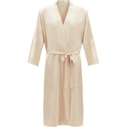 Asceno - Athens Sandwashed Silk Robe - Womens - Nude found on MODAPINS from Matches Global for USD $568.00