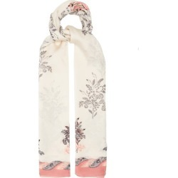Max Mara - Rasetto Scarf - Womens - Pink Multi found on Bargain Bro UK from Matches UK