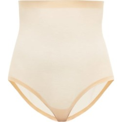 Wolford - High-rise Mesh Shapewear Briefs - Womens - Nude found on Bargain Bro from Matches Global for USD $72.96
