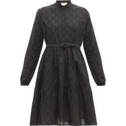 Gucci - GG Broderie-anglaise Cotton-blend Dress - Womens - Black found on Bargain Bro India from Matches Global for $2980.00