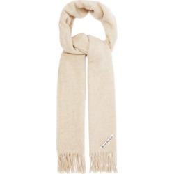 Acne Studios - Canada Fringed Wool Scarf - Womens - Beige found on Bargain Bro UK from Matches UK