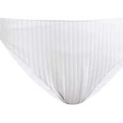 Araks - Ulla Ribbed High-rise Bikini Briefs - Womens - White found on MODAPINS from MATCHESFASHION.COM - AU for USD $27.77