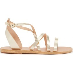 Ancient Greek Sandals - Delia Leather Sandals - Womens - Gold found on MODAPINS from Matches Global for USD $275.00