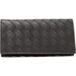 Bottega Veneta - Intrecciato Continental Leather Wallet - Mens - Black found on Bargain Bro UK from Matches UK