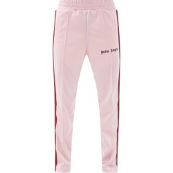 Palm Angels - Logo-print Jersey Track Pants - Mens - Pink found on Bargain Bro UK from Matches UK