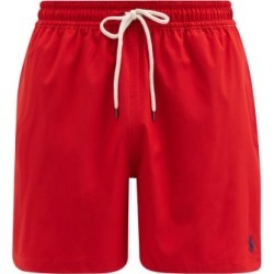 Polo Ralph Lauren - Logo-embroidered Swim Shorts - Mens - Red found on Bargain Bro UK from Matches UK