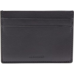 Jil Sander - Logo-debossed Leather Cardholder - Mens - Black found on Bargain Bro UK from Matches UK