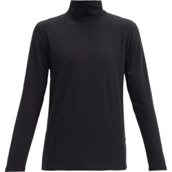 Jil Sander - Roll-neck Cotton-blend Jersey Top - Mens - Black found on Bargain Bro UK from Matches UK