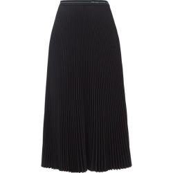 Prada - Logo-waistband Pleated Jersey Midi Skirt - Womens - Black found on Bargain Bro UK from Matches UK