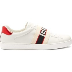 Gucci - Baskets en cuir à rayure en jacquard Ace found on Bargain Bro Philippines from matchesfashion.com fr for $678.60