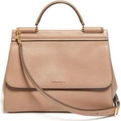 Dolce & Gabbana - Sicily Small Leather Bag - Womens - Dusty Pink found on Bargain Bro from MATCHESFASHION.COM - AU for USD $1,861.27