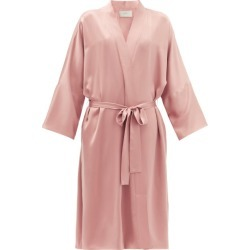 Asceno - Athens Silk Robe - Womens - Dusty Pink found on MODAPINS from Matches Global for USD $568.00