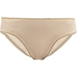Araks - Isabella Cotton Briefs - Womens - Nude found on MODAPINS from Matches Global for USD $31.00