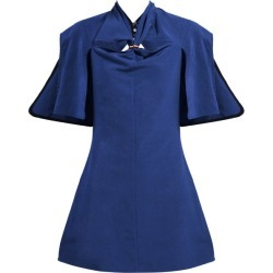 Ellery - Holly Of Hollies Cut-out Mini Dress - Womens - Navy found on MODAPINS from Matches Global for USD $253.00