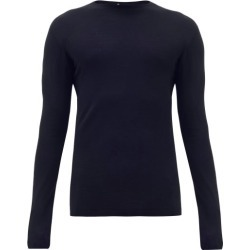 Iffley Road - Dartmoor Merino Wool Top - Mens - Navy found on Bargain Bro India from MATCHESFASHION.COM - AU for $94.37