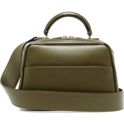 Valextra - Serie S Small Smooth-leather Shoulder Bag - Womens - Khaki found on Bargain Bro from MATCHESFASHION.COM - AU for USD $3,040.55
