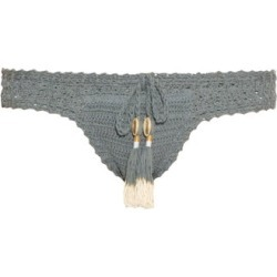 She Made Me - Essential Hipster Crochet Bikini Briefs - Womens - Blue found on Bargain Bro UK from Matches UK